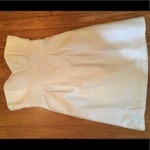 Classic Nanette lepore white strapless dress